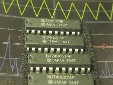 HD 74HC574P  Octal D-Type Flip-Flop DIP HITACHI  1pcs