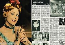 Coupure de Presse Clipping 1980 (4 pages) Marika Rokk