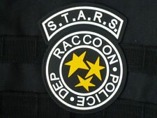 3D PVC RESIDENT EVIL S.T.A.R.S. RACOON CITY POLICE PVC (SEWING)  PATCH PD STARS
