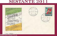 ITALIA FDC ROMA CONTI CORRENTI POSTALI 1968  ANNULLO TORINO G128