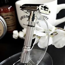 Custom Order Gillette FatBoy with Brand New Rhodium Plating 1116066