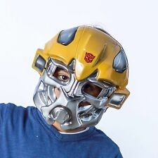 The Mask Biz Transformers Mask PVC Bumblebee Party Costume Robot Great