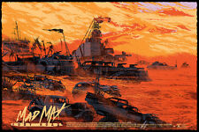 Mad Max Fury Road by Kilian Eng - Mondo Movie Poster Rare Sold Out Print