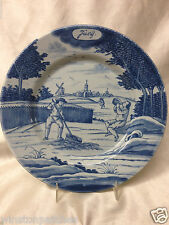 """DELFT HOLLAND METROPOLITAN MUSEUM OF ART MONTH OF THE YEAR JUNE PLATE 9 1/4"""" MMA"""