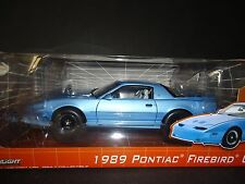 Greenlight Pontiac Firebird Trans Am GTA 1989 Blue 1/18 Limited Edition