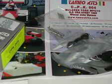 Tameo Kits 1:43 KIT CPK 004 McLaren Ford MP4/1C GP USA West 1983 NEW