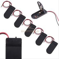 5PCS CR2032 Button Coin Cell Battery Socket Holder Case Cover With ON/OFF Switch