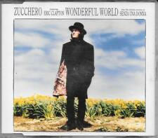 "ZUCCHERO - RARO CDs 1991 "" WONDERFUL WORLD "" ERIC CLAPTON"