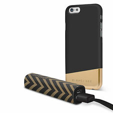 Dabney Lee iPhone 7 Case Black and Gold with Power Bank