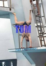 TOM DALEY #1014,BARECHESTED,SHIRTLESS,candid photo
