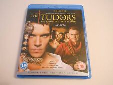 THE TUDORS THE complete First season UK BLU RAY DVD 3 disc set