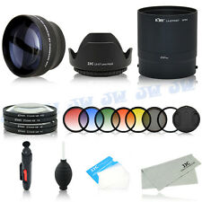 Tele Lens Adapter UV CPL Graduated Filters Kit for Nikon Coolpix P510 P520 P530