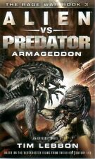 Alien vs Predator  Armageddon  The Rage War  A Novel   Tim Lebbon    Pbk NEW