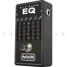 MXR M109 6-Band EQ by Dunlop Graphic Equalizer Guitar Effects Pedal - BRAND NEW