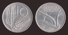 10 LIRE 1967 SPIGHE E ARATRO - ITALIA