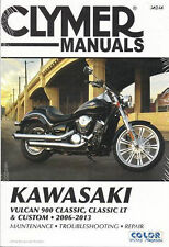2006-2013 Kawasaki Vulcan 900 Classic, LT, Custom Clymer Repair Shop Manual M246