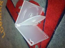 50 14MM Clear Double 2 DVD Cases w/Swing Tray PSD44