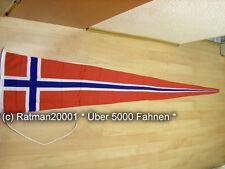 Fahnen Flagge Norwegen Langwimpel Wimpel - 40 x 250 cm