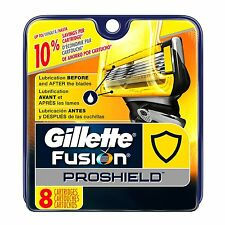 Gillette Fusion ProShield Men's Razor Blade Refills 8 Count Made in Germany