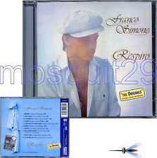 "FRANCO SIMONE ""RESPIRO"" RARO CD SERIE ""THE ORIGINALS"" - FUORI CATALOGO"
