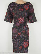 BNWT So Fabulous Floral Print Pencil Dress Size 18 Stretch RRP £37