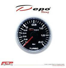 DEPO RACING MECHANISCHE LADEDRUCK ANZEIGE / TURBO BOOST GAUGE CSM-MW5201B 52mm