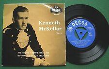 """Kenneth McKellar No 2 inc My Love is Like A Red Red Rose + DFE 6394 7"""" EP"""