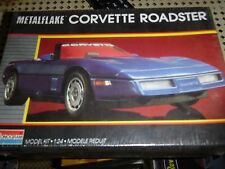 MONOGRAM CORVETTE ROADSTER METAL-FLAKE 1/24 Model Car Mountain KIT fs