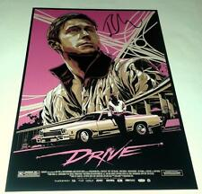 "DRIVE PP SIGNED 12""X8"" inch POSTER RYAN GOSLING"