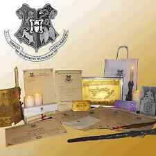 Harry Potter ULTIMATE Set! Diagon alley, Wand, Hogwarts Letter, Quill, box +more