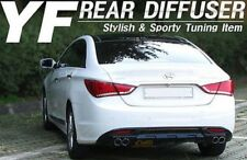 Rear Bumper Glossy Black Dual Diffuser 1 Set for Hyundai YF Sonata 2011-2014