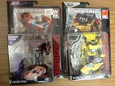 TRANSFORMERS COMBINER WARS DEAD END, SUNSTREAKER & COMIC GENERATIONS UNIVERSE