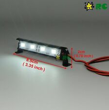 RC 1/10 Aluminum LED Light Bar 6 ~ 7.4V W/ JR Plug F TAMIYA AXIAL RC4WD Crawler