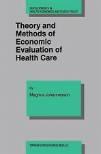 Developments in Health Economics and Public Policy Ser.: Theory and Methods...