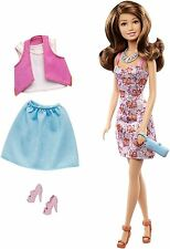 BARBIE TERESA DOLL & FASHION GIFT SET CML81 LIFE IN THE DREAMHOUSE *NU*
