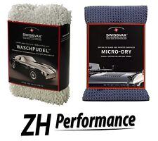 SWIZÖL SWISSVAX Car Wash Kit Einsteiger-Set mit Waschpudel und Micro Dry