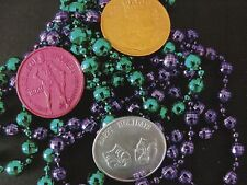 "*Postcard-""Mardi Gras...Coins & Beads"" /*Picture of Items on Postcard/ (#117)"