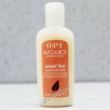 OPI Avojuice SWEET TEA Skin Quenchers Hand & Body Mini Sample Lotion 30 mL 1 oz