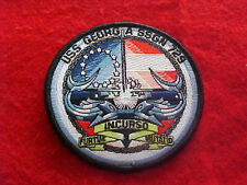 US Navy - USS Georgia SSGN 729 - Boat Patch / Logo / Ships Crest / Submarine