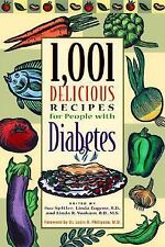 1,001 Delicious Recipes for People with Diabetes Eugene, R.D., Linda Paperback