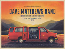 Dave Matthews Band Poster 2016 Gorge 3-Day A/E 25 Years  Signed & Numbered #100