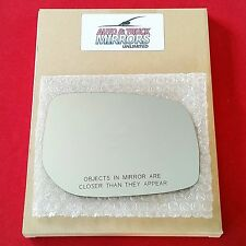NEW Mirror Glass + ADHESIVE 07-11 TOYOTA YARIS Passenger Right Side RH