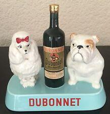 BESWICK  DUBONNET ADVERTISING FIGURE  FRENCH POODLE BRITISH BULLDOG RARE UNBOXED