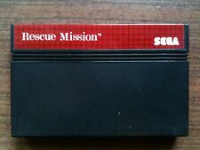 """rescue mission ""Sega Master System Game Used (PAL)"