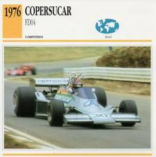 1976 COPERSUCAR FD04 Racing Classic Car Photo/Info Maxi Card