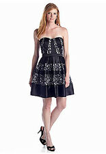Betsy And Adam Strapless Dress NWT 4, orig. 199$
