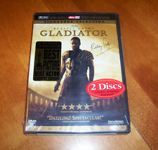 GLADIATOR Best Picture Academy Award Ancient Rome Special Movie Film 2 DVD SET