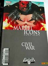 CIVIL WAR / Marvel Icons Hors Serie 11 (2007 PANINI ) Vends autres CIVIL WAR