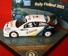 FORD FOCUS RS WRC #4 RALLYE FINLANDE 2003 1/43 VITESSE MARTIN PARK FINLAND RALLY