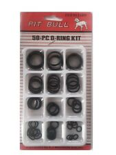50pc Rubber Seal O-Ring Assortment Plumbing ORing Kit